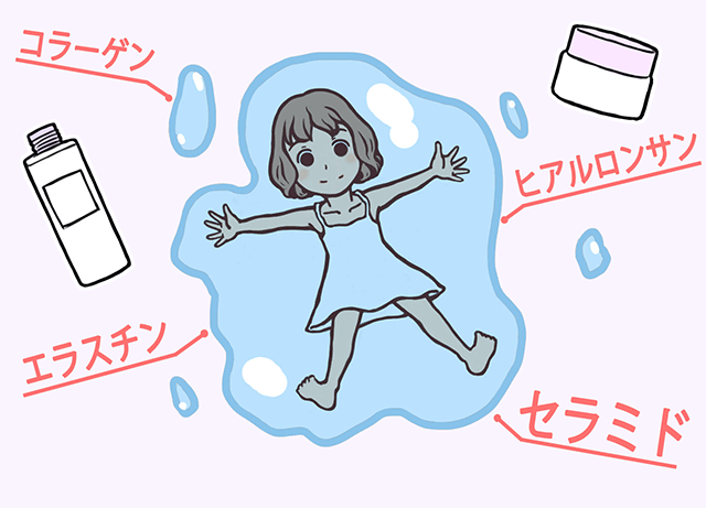 入浴後5分以内の保湿でもちもち肌になる