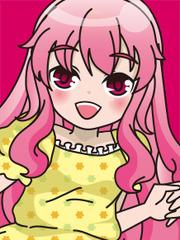 ピンクのカーテンのミサキさん